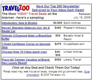 Travelzoo my coupons